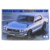 Tamiya 1/24 Nissan Skyline 2000 GT-R Hard Top Scaled Plastic Model Kit