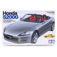 Tamiya 1/24 Honda S2000 Soft Top Scaled Plastic Model Kit
