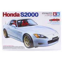 Tamiya 1/24 Honda S2000 Hard Top Scaled Plastic Model Kit