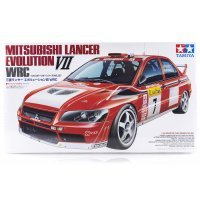 Tamiya 1/24 Mitsubishi Lancer Evolution VII WRC Scaled Plastic Model Kit