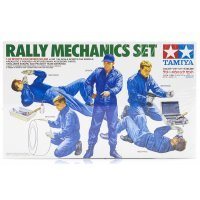 Tamiya 1/24 Rally Mechanics Scaled Plastic Model Kit