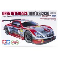 Tamiya 1/24 Lexus SC430 2006 Tom's Open Interface Plastic Model Kit