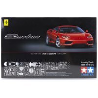 Tamiya 1/24 Ferrari 360 Modena (Red) Scaled Plastic Model Kit