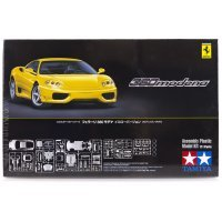 Tamiya 1/24 Ferrari 360 Modena (Yellow) Scaled Plastic Model Kit