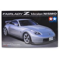 Tamiya 1/24 Nissan Fairlady Z/350Z NISMO Version Scaled Plastic Model Kit