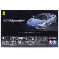Tamiya 1/24 Ferrari 360 Spider Scaled Plastic Model Kit
