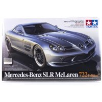 Tamiya 1/24 Mercedes-Benz SLR McLaren 722 Edition Plastic Model Kit