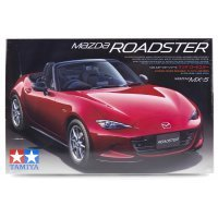 Tamiya 1/24 Mazda Roadster/MX-5 Scaled Plastic Model Kit