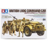 Tamiya 1/35 British LRDG Armoured Command Truck Scaled Plastic Model Kit