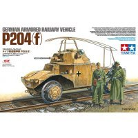 Tamiya 1/35 German Armored Railway Vehicle P204(f) Scaled Plastic Model Kit