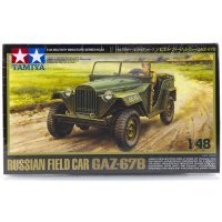 Tamiya 1/48 Russian Gaz-67B Field Car Scaled Plastic Model Kit
