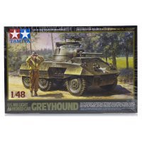 Tamiya 1/48 U.S. M8 Greyhound Light Armored Car Scaled Plastic Model Kit