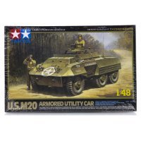 Tamiya 1/48 U.S. M20 Armored Utility Car Scaled Plastic Model Kit