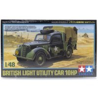 Tamiya 1/48 British 10HP Light Utility Car Scaled Plastic Model Kit