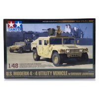 Tamiya 1/48 U.S. Modern 4x4 Utility Vehicle w/ Grenade Launcher Scaled Plastic Model Kit