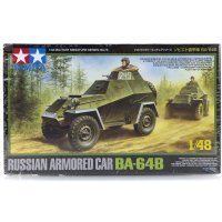 Tamiya 1/48 Russian BA-64B Armored Car Scaled Plastic Model Kit