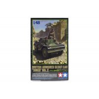 Tamiya 1/48 British Dingo Mk.II Armored Scout Car Scaled Plastic Model Kit