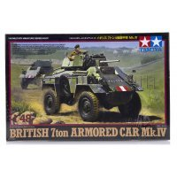 Tamiya 1/48 British 7 Ton Armored Car Mk.IV Scaled Plastic Model Kit