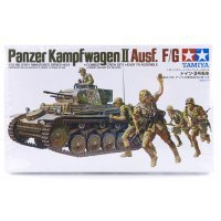 Tamiya 1/35 German Panzer Kampfwagen II Ausf. F/G Tank Scaled Plastic Model Kit