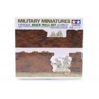 Tamiya 1/35 Brick Wall Set Scaled Plastic Model Kit