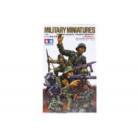 Tamiya 1/35 German WWII Assault Infantry Troops Set Scaled Plastic Model Kit