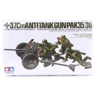 Tamiya 1/35 German 37mm Pak 35/36 Anti-Tank Gun Scaled Plastic Model Kit