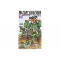 Tamiya 1/35 German Machine Gun Troops Scaled Plastic Model Kit