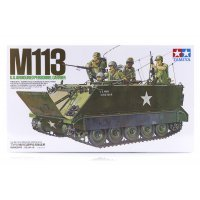 Tamiya 1/35 U.S. M113 Armoured Personnel Carrier Scaled Plastic Model Kit
