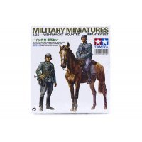 Tamiya 1/35 German Wehrmacht Mounted Infantry Set Scaled Plastic Model Kit