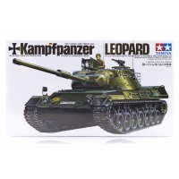 Tamiya 1/35 German Kampfpanzer Leopard Tank Scaled Plastic Model Kit