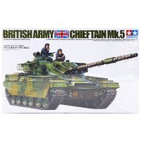 Tamiya 1/35 British Chieftain Mk.5 Tank Plastic Model Kit