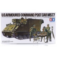 Tamiya 1/35 U.S. M577 Armoured Command Post Car Scaled Plastic Model Kit