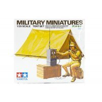 Tamiya 1/35 Military Tent Set Scaled Plastic Model Kit