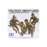 Tamiya 1/35 Japanese Army Infantry Kit Scaled Plastic Model Kit