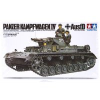 Tamiya 1/35 German Panzer Kampfwagen IV (Ausf.D) Scaled Plastic Model Kit
