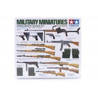 Tamiya 1/35 German Infantry Weapons Set Scaled Plastic Model Kit