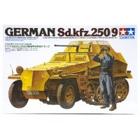 Tamiya 1/35 German Leichter Schutzenpanzerwagen (2cm) (Sd.Kfz. 250/9) Scaled Plastic Model Kit