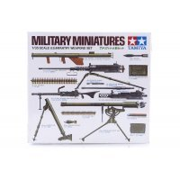 Tamiya 1/35 U.S. Infantry Weapons Set Scaled Plastic Model Kit