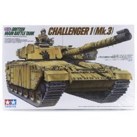 Tamiya 1/35 British MBT Challenger 1 (Mk.3) Tank Scaled Plastic Model Kit