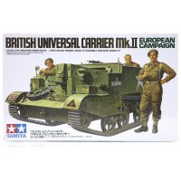 Tamiya 1/35 British European Campaign Mk.II Universal Carrier Scaled Plastic Model Kit