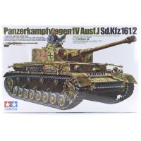 Tamiya 1/35 German Panzerkampfwagen IV Ausf.J (Sd.Kfz.161/2) Tank Scaled Plastic Model Kit