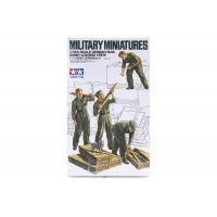 Tamiya 1/35 German Tank Ammo-Loading Crew Scaled Plastic Model Kit