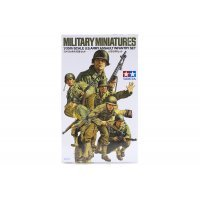 Tamiya 1/35 U.S. Army Assault Infantry Set Scaled Plastic Model Kit