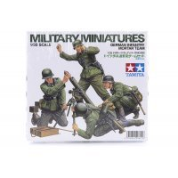 Tamiya 1/35 German Infantry Mortar Team Scaled Plastic Model Kit