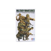 Tamiya 1/35 German Front-Line Infantrymen Scaled Plastic Model Kit