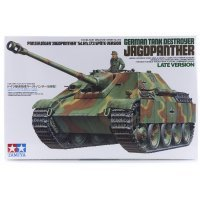 Tamiya 1/35 German Jagdpanther Tank Destroyer (Sd.Kfz.173) Late Version Scaled Plastic Model Kit