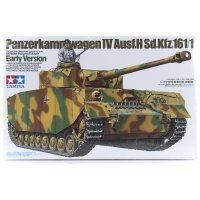 Tamiya 1/35 German Panzerkampfwagen IV (Sd.Kfz.161/1) Early Version Tank Scaled Plastic Model Kit