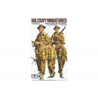 Tamiya 1/35 British Infantry on Patrol Set Scaled Plastic Model Kit
