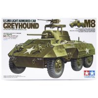 Tamiya 1/35 U.S. M8 Greyhound Light Armored Car Scaled Plastic Model Kit