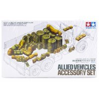 Tamiya 1/35 Allied Vehicle Accessory Set Scaled Plastic Model Kit